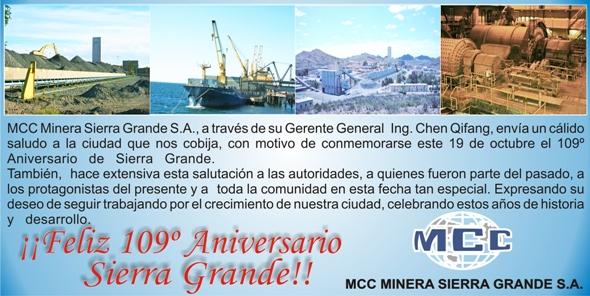 aniversario Sierra Grande