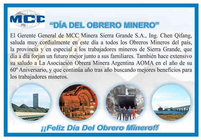Día del Obrero Minero
